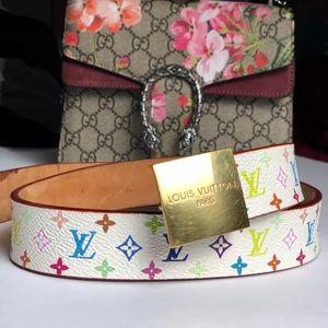 Louis Vuitton Multicolore Belt